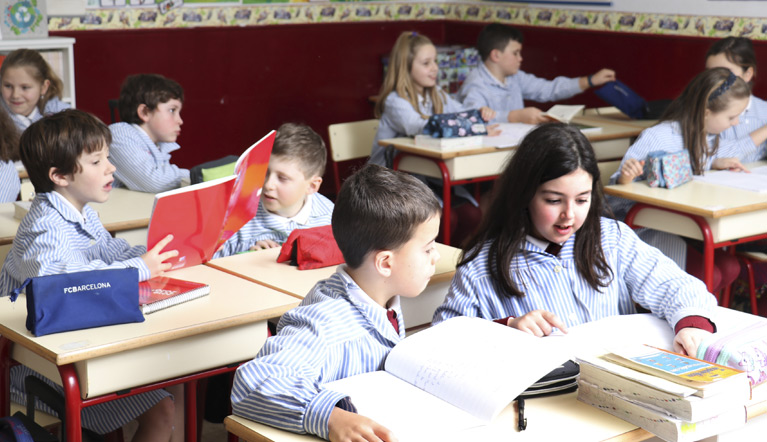 Idiomas en el Colexio San Jorge